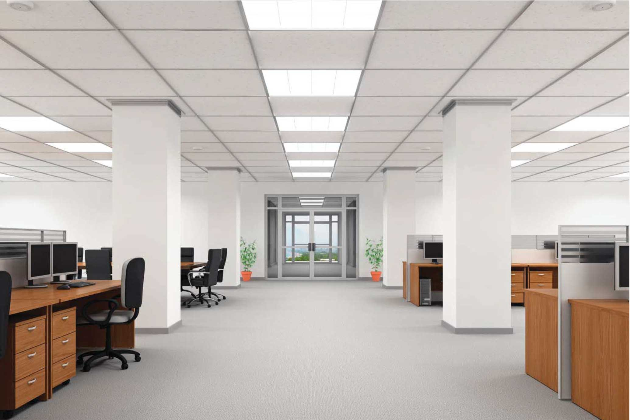Led lighting for office space ces aloadofball Image collections