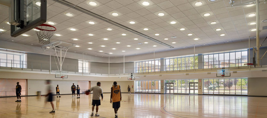 sports facilities electrical contractor